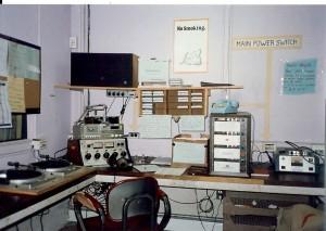 WHRC Studio 1987
