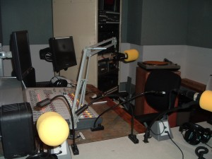 ONe of the studios at KALX