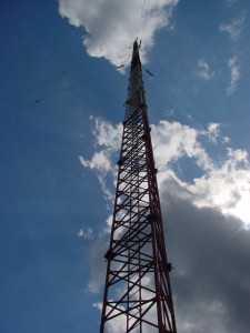 WLS Radio Tower Photo by Garrett Wollman