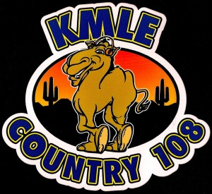 KMLE Sticker Courtesy Greg Blouch