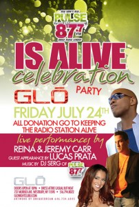 "Invitation to ""87.7 Is Alive Celebration"""