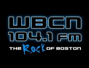 WBCN's last analog FM logo