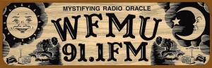 WFMU Sticker Courtesy Greg Blouch