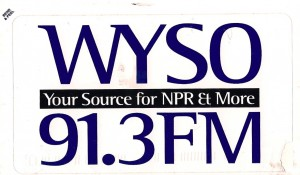 WYSO Sticker Courtesy Greg Blouch