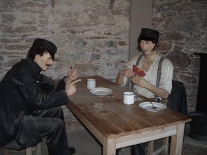 Wax Figures at the Cork City Gaol