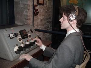 Radio Museum at Cork City Gaol Heritage Centre, Ireland