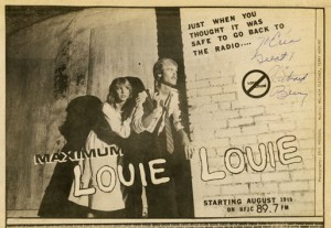 "KFJC's ""Return of the Invasion of Maximum Louie Louie"""