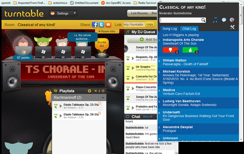 Four cool turntable.fm extensions for Chrome