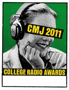 CMJ Announces Nominees for 2011 College Radio Awards