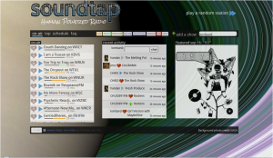 Soundtap's College Radio Discovery Tool