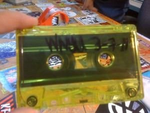 Cassette Tape at WNYU (Photo: J. Waits)
