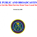 The Public and Broadcasting