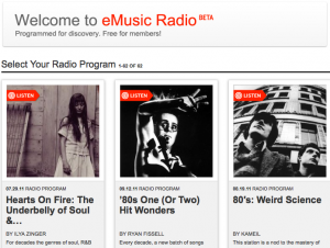 eMusic Radio