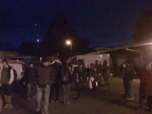Protesters at UC Davis Awaiting Chancellor on Nov. 19 (Photo: J. Waits)