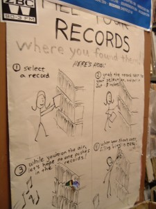 File Records Where you Found Them (Photo: J. Waits)