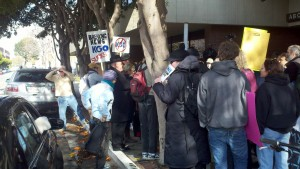 Occupy KGO! Scenes from a San Francisco demonstration
