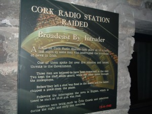 Exhibit at the Cork Radio Museum (Photo: J. Waits)