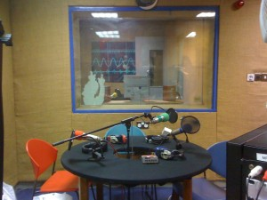 Flirt FM's former studios in Galway circa 2009 (Photo: J. Waits)