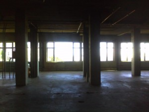 Former KUSF Space in Phelan Hall. January 2012
