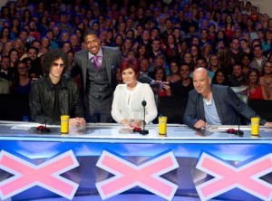 Howard Stern joins the America's Got Talent cast