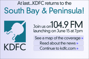 KDFC Announces Move to 104.9 FM