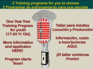 Radio Arte's Youth Media Programs