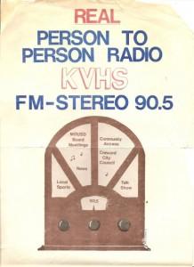 KVHS flyer (Photo credit: Save KVHS)