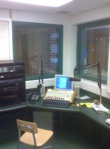 WLMH Radio Room (Photo: WLMH)