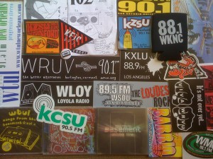 College radio swag college