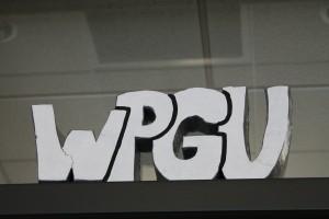 Sign at WPGU, July 2012 (Photo: J. Waits)
