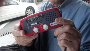 How the Eton Microlink Solar Powered American Red Cross stickered radio changed my life