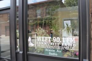WEFT in Champaign, Illinois (Photo: J. Waits)
