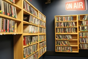 Studio at Radio DePaul (Photo: J. Waits)