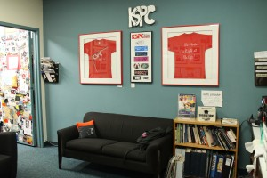 KSPC Lobby (Photo: J. Waits)