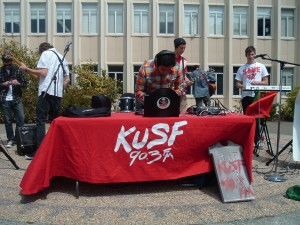 KUSF Rally April 2011 (Photo: J. Waits)