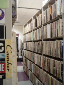 KALX Vinyl Library in 2010 (Photo: J. Waits)