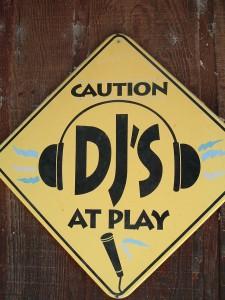 Sign at KZYX (photo: J. Waits)