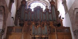 Pipe organ from Strasbourg (wikipedia).