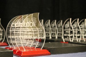 Awards at the 2012 CBI conference (Photo: J. Waits)