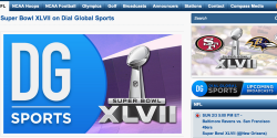 Super Bowl XLVII on Dial Global Radio