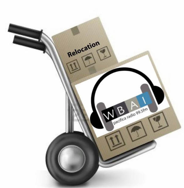 Relocation. Help WBAI move!