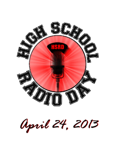 High School Radio Day logo