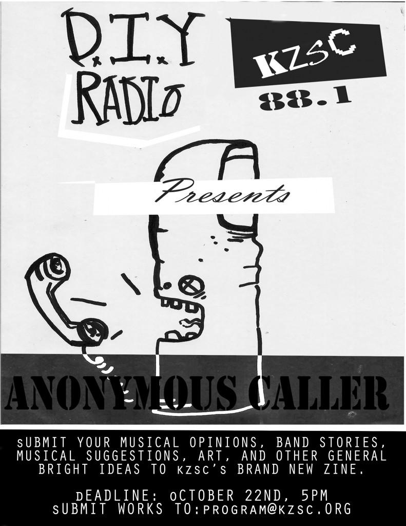 Anonymous Caller KZSC