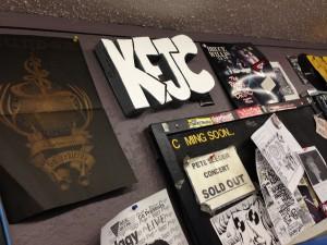 KFJC lobby