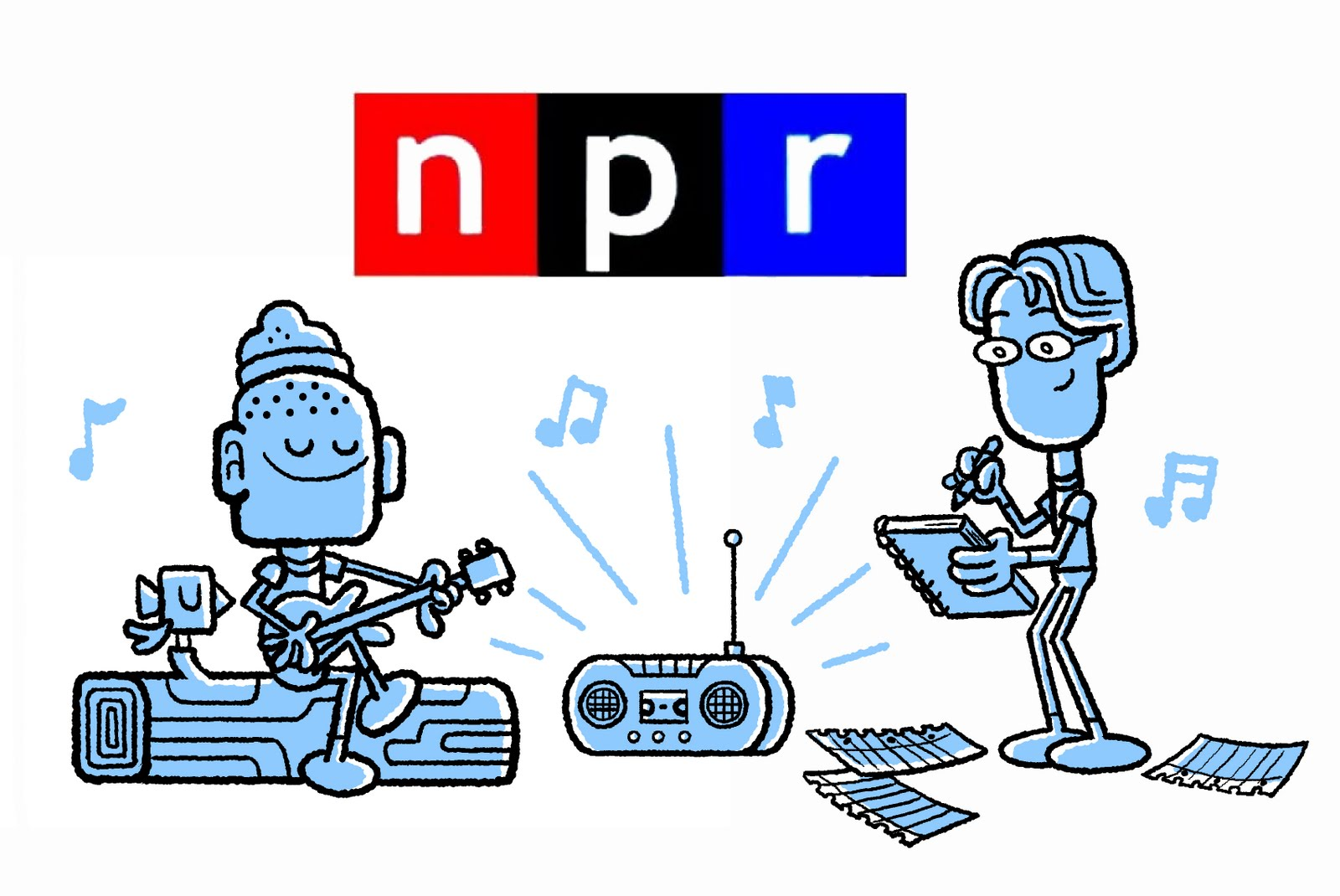 NPR singing