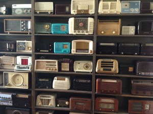 Radios at SF History  Museum