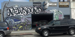 The New Sound HQ on Valencia Street
