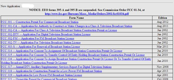 FCC forms