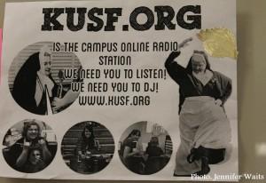 KUSF.org flyer