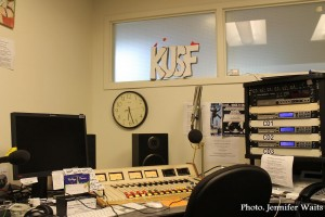 KUSF.org studio in 2013